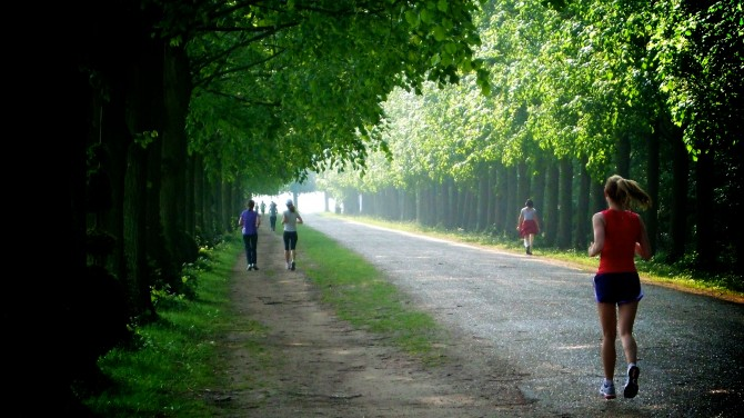 Running • France • Versailles