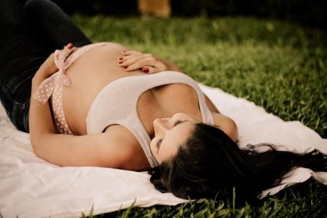 linda na gravidez