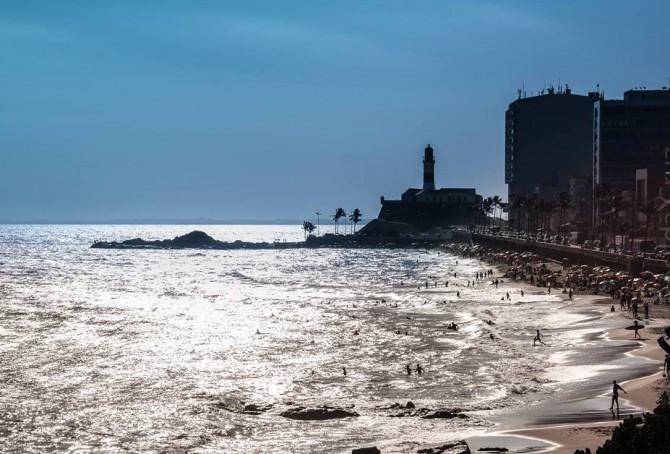 Praia do Farol da Barra - Foto de Rosilda Cruz