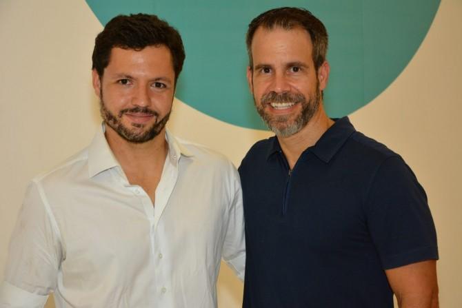 Alain Michel e Luis André Bastos